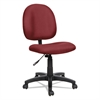 Alera Essentia Series Swivel Task Chair, Acrylic, Burgundy