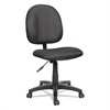 Alera Alera Essentia Series Swivel Task Chair, Acrylic, Black