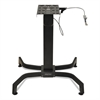 Ergotron WorkFit-B Sit-Stand Workstation Base, Light-Duty, 60 lbs. Max Weight Cap, Black