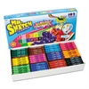 Mr. Sketch Washable Markers, Chisel, Assorted Colors, 192/Set