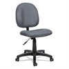 Essentia Series Swivel Task Chair, Acrylic, Gray
