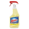 Windex Antibacterial Multi-Surface Cleaner, Lemon Scent, 26 oz Spray Bottle