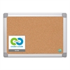 Earth Cork Board, 18x24, Aluminum Frame
