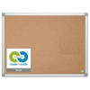 MasterVision Earth Cork Board, 36 x 48, Aluminum Frame