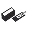 Magnetic Card Holders, 2w x 1h, Black, 25/Pack