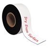 "MasterVision Dry Erase Magnetic Tape Roll, White, 3"" x 50 Ft."