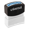 Universal Message Stamp, APPROVED, Pre-Inked One-Color, Blue
