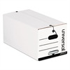 Universal String/Button Storage Box, Legal, Fiberboard, White, 12/Carton