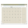 AT-A-GLANCE Executive Monthly Desk Pad Calendar, 22 x 17, Buff, 2017