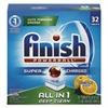 FINISH Powerball Dishwasher Tabs, Orange Scent, 32/Box