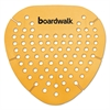Boardwalk Gem Urinal Screen, Lasts 30 Days, Orange, Mango Fragrance, 12/Box
