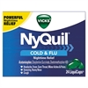 NyQuil Cold & Flu Nighttime LiquiCaps, 24/Box