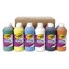 Washable Paint, Assorted, 16 oz Bottle, 12 per Set