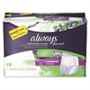 Always Discreet Incontinence Underwear, Small/Medium, Maximum Absorbency,19/Pack