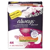 Always Discreet Sensitive Bladder Protection Liners, Very Light, X-Long,44/Pk,3Pk/Ctn