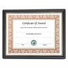 NuDell Framed Achievement/Appreciation Awards, Two Designs, Letter