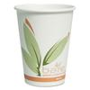 SOLO Cup Company Bare Eco-Forward PCF Hot Cups, Paper, Green/White, 12 oz, 300/Carton