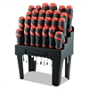 Screwdriver Set and Storage Rack, 26-Piece