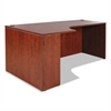 Alera Valencia Left Corner Credenza Shell, 72w x 36d x 29 1/2h, Medium Cherry