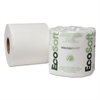 EcoSoft Universal Bathroom Tissue, 2-Ply, 500 Sheets/Roll, 96 Rolls/Carton