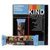 Fruit and Nut Bars, Blueberry Vanilla and Cashew, 1.4 oz Bar, 12/Box