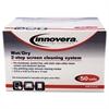 Innovera Anti-Static Wet/Dry Sachet Pairs, White, 50 Sets/Box