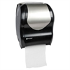 San Jamar Tear-N-Dry Touchless Roll Towel Dispenser, 16 3/4 x 10 x 12 1/2, Black/Silver