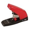 Vaimo 80 Heavy-Duty Flat-Clinch Stapler, 80-Sheet Capacity, Red/Brown