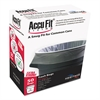 "AccuFit Can Liners, 32gal, 0.9mil, Clear, 33"" x 44"", 50/Box"