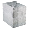 Sorbent Pads, High-Capacity, Maintenance,0.375gal Capacity, 100/Carton