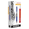 Sarasa Retractable Gel Pen, Blue Ink, Bold, Dozen