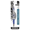 Zebra F-301 Ballpoint Retractable Pen, Blue Ink, Medium