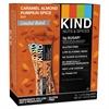 Nuts and Spices Bar, Caramel Almond Pumpkin Spice, 1.4 oz Bar, 12/Box