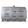 Tidy Girl Tidy Girl Plastic Feminine Hygiene Disposal Bag Dispenser, Gray