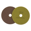 "Diamond Floor Pads, 19"" Diameter, Sienna, 5/Carton"