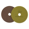 "Diamond Floor Pads, 16"" Diameter, Sienna, 5/Carton"