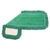 Microfiber Dust Mop Head, 24 x 5, Green, 12/Carton