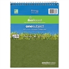 Roaring Spring Environotes BioBased Notebook, 8 1/2 x 11 1/2, Flipper, 80 Sheets, College Rule
