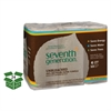Seventh Generation Natural Unbleached 100% Recycled Paper Towel Rolls, 11 x 9, 120 SH/RL, 24 RL/CT