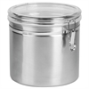Office Settings Stainless Steel Canisters, 165 oz
