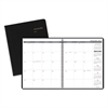 Monthly Planner, 8 7/8 x 11, Black, 2017-2018