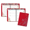 AT-A-GLANCE Playful Paisley Weekly/Monthly Appointment Book, 5 1/2 x 8 1/2, Pink, 2017-2018