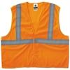 GloWear 8205HL Type R Class 2 Super Econo Mesh Vest, Orange, 4XL/5XL