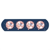 "MLB Adhesive Bandages, NY Yankees, 1"" x 3"", 50/Box"