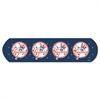 """CureIt MLB Adhesive Bandages, NY Yankees, 1"""" x 3"""", 50/Box"""