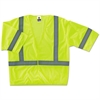 GloWear 8310HL Type R Class 3 Economy Mesh Vest, Lime, L/XL