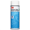 3M Stainless Steel Cleaner & Polish, Lime Scent, Foam, 21 oz. Aerosol Can
