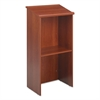 Safco Stand-Up Lectern, 23w x 15-3/4d x 46h, Cherry