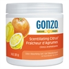 Odor Absorbing Gel, Scentillating Citrus, 14 oz Jar, 12/Carton