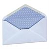 Universal Security Envelope, 3 5/8 x 6 1/2, White, 250/Box